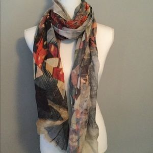 Colorful Scarf - See my other scarves to bundle